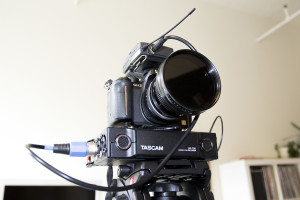 GH2 and Tascam DR-70D