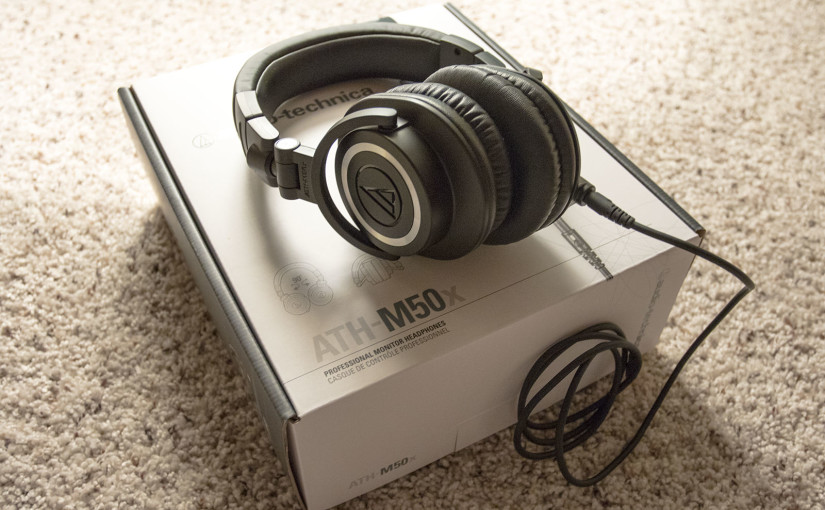 Hands-on review of the Audio-Technica ATH-M50x Headphones